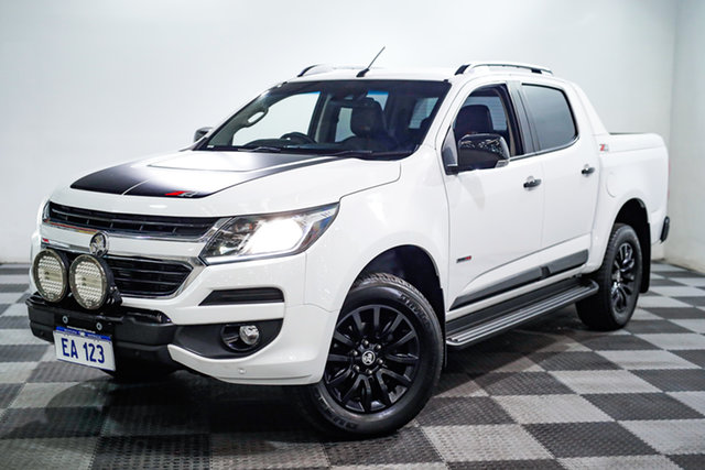 Used Holden Colorado RG MY18 Z71 Pickup Crew Cab Edgewater, 2018 Holden Colorado RG MY18 Z71 Pickup Crew Cab White 6 Speed Sports Automatic Utility