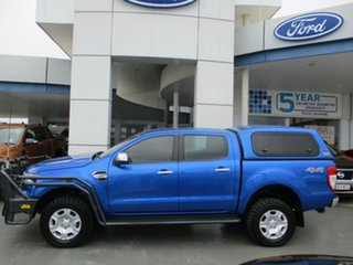 2017 Ford Ranger PX MkII MY17 Update XLT 3.2 (4x4) Blue 6 Speed Automatic Double Cab Pick Up.