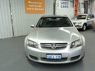 2010 Holden Commodore VE MY10 International Silver 6 Speed Sports Automatic Sedan.