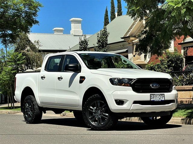 Used Ford Ranger PX MkIII 2020.25MY XL Hyde Park, 2020 Ford Ranger PX MkIII 2020.25MY XL White 6 Speed Sports Automatic Double Cab Pick Up