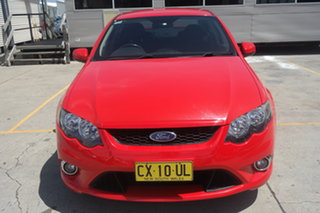 2010 Ford Falcon FG XR6 Red 6 Speed Sports Automatic Sedan.