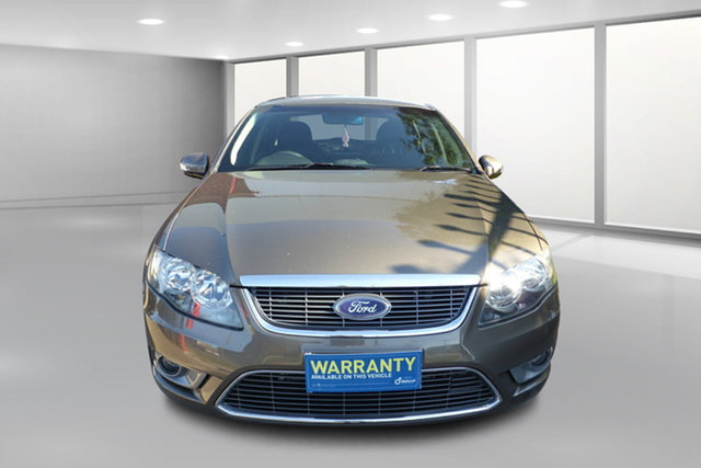 Used Ford Falcon FG G6E 50th Anniversary West Footscray, 2010 Ford Falcon FG G6E 50th Anniversary Brown 6 Speed Sports Automatic Sedan