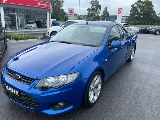 Used Ford Falcon FG MkII XR6 Ute Super Cab Maitland, 2012 Ford Falcon FG MkII XR6 Ute Super Cab Blue 6 Speed Sports Automatic Utility
