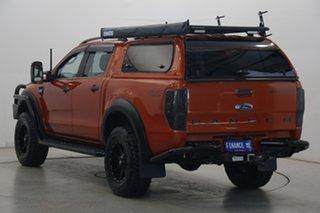 2012 Ford Ranger PX Wildtrak Double Cab Orange 6 Speed Manual Utility