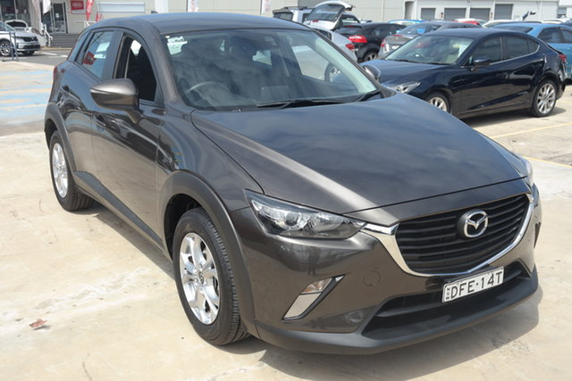 Used Mazda CX-3 DK2W7A Maxx SKYACTIV-Drive Maryville, 2016 Mazda CX-3 DK2W7A Maxx SKYACTIV-Drive Grey 6 Speed Sports Automatic Wagon