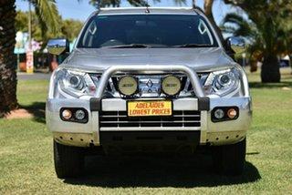 2016 Mitsubishi Triton MQ MY16 GLS Double Cab Silver 5 Speed Sports Automatic Utility.