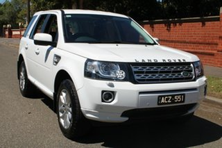 2014 Land Rover Freelander 2 LF MY15 SD4 SE (4x4) White 6 Speed Automatic Wagon.
