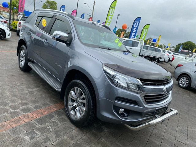 Used Holden Trailblazer LTZ Taree, 2017 Holden Trailblazer LTZ Grey Sports Automatic Wagon