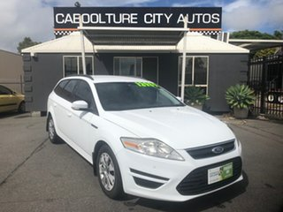2012 Ford Mondeo MC LX TDCi White 6 Speed Direct Shift Wagon.