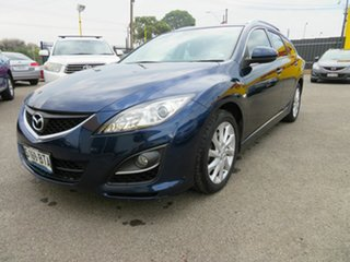 2010 Mazda 6 GH MY10 Diesel Blue 6 Speed Manual Wagon.