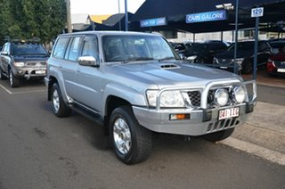 2004 Nissan Patrol GU IV ST (4x4) Silver 5 Speed Manual Wagon