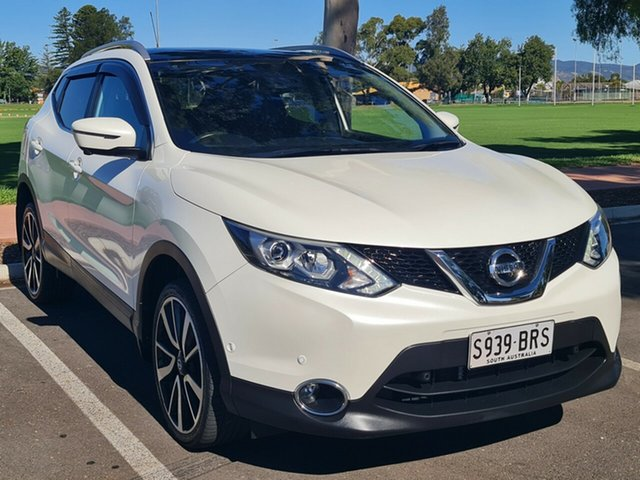 Used Nissan Qashqai J11 TI Nailsworth, 2017 Nissan Qashqai J11 TI White 1 Speed Constant Variable Wagon
