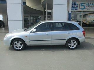 2003 Mazda 323 Astina Silver 5 Speed Manual Hatchback.
