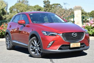 2017 Mazda CX-3 DK4W7A Akari SKYACTIV-Drive i-ACTIV AWD Red 6 Speed Sports Automatic Wagon.
