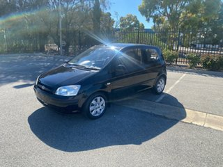 2005 Hyundai Getz TB MY05 GL Black 5 Speed Manual Hatchback.