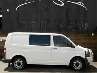 2011 Volkswagen Transporter T5 MY11 Low Roof DSG White 7 Speed Sports Automatic Dual Clutch Van.