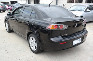 2013 Mitsubishi Lancer CJ MY14 ES Black 5 Speed Manual Sedan