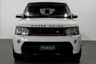 2011 Land Rover Range Rover Sport L320 11MY TDV6 Autobiography White 6 Speed Sports Automatic Wagon.
