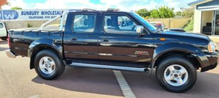 2010 Nissan Navara D22 MY2009 ST-R Black 5 Speed Manual Utility