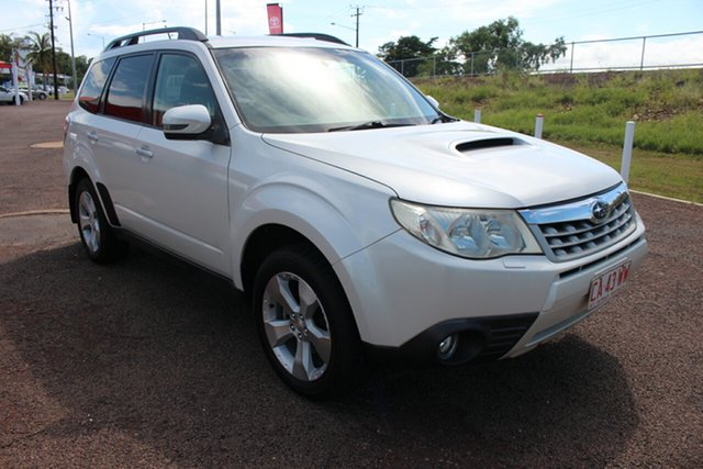 Pre-Owned Subaru Forester S3 MY12 X AWD Darwin, 2012 Subaru Forester S3 MY12 X AWD Quartz White 5 Speed Manual Wagon