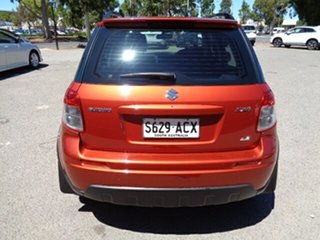 2009 Suzuki SX4 GYA S Orange 4 Speed Automatic Hatchback
