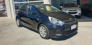2015 Kia Rio UB MY15 S Black 4 Speed Sports Automatic Hatchback.