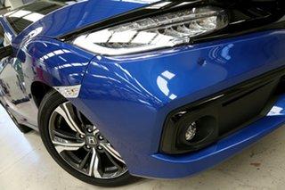 2020 Honda Civic 10th Gen MY20 VTi-LX Brilliant Sporty Blue 1 Speed Constant Variable Sedan.