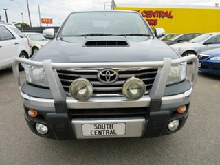 2013 Toyota Hilux KUN26R MY14 SR5 (4x4) Black 5 Speed Automatic Dual Cab Pick-up.