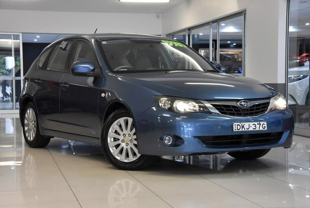 Used Subaru Impreza S MY07 R AWD Waitara, 2007 Subaru Impreza S MY07 R AWD Blue 4 Speed Automatic Hatchback