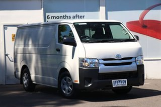 2015 Toyota HiAce KDH201R LWB White 4 Speed Automatic Van.
