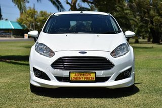 2017 Ford Fiesta WZ Sport PwrShift White 6 Speed Sports Automatic Dual Clutch Hatchback.