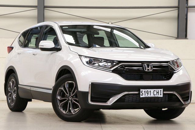 Demo Honda CR-V RW MY21 VTi 4WD L AWD Glen Osmond, 2020 Honda CR-V RW MY21 VTi 4WD L AWD Platinum White 1 Speed Constant Variable Wagon