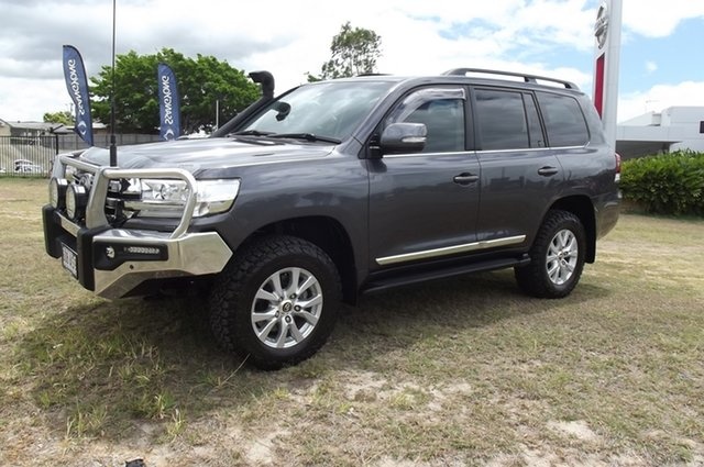 Used Toyota Landcruiser VDJ200R Sahara South Gladstone, 2016 Toyota Landcruiser VDJ200R Sahara Grey 6 Speed Sports Automatic Wagon