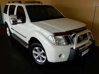 2012 Nissan Pathfinder R51 Series 4 TI 550 (4x4) White 7 Speed Automatic Wagon