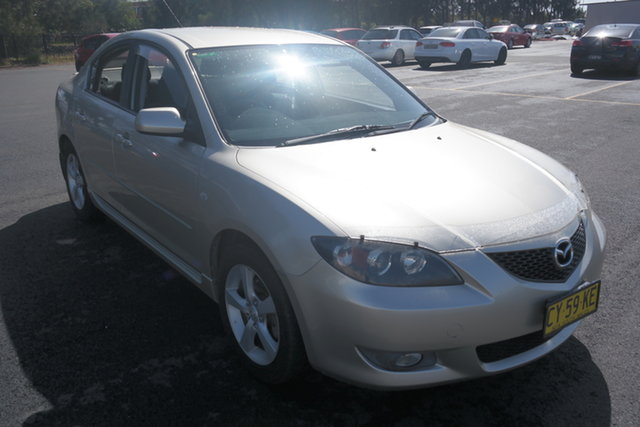 Used Mazda 3 BK10F1 Maxx Maryville, 2005 Mazda 3 BK10F1 Maxx Silver 4 Speed Sports Automatic Sedan