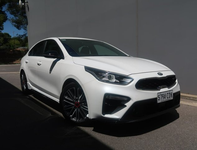 Used Kia Cerato BD MY20 GT DCT Reynella, 2019 Kia Cerato BD MY20 GT DCT White 7 Speed Sports Automatic Dual Clutch Sedan