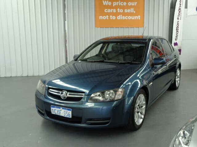 Used Holden Commodore VE MY09 60th Anniversary Rockingham, 2008 Holden Commodore VE MY09 60th Anniversary Blue 4 Speed Automatic Sedan