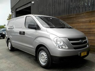 2013 Hyundai iLOAD TQ2-V MY13 Silver 5 Speed Automatic Van.