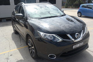 2015 Nissan Qashqai J11 TI Black 6 Speed Manual Wagon.