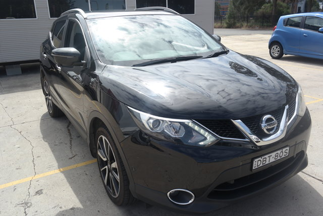 Used Nissan Qashqai J11 TI Maryville, 2015 Nissan Qashqai J11 TI Black 6 Speed Manual Wagon