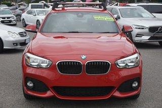 2016 BMW 1 Series F20 LCI 120i Steptronic Sport Line Red 8 Speed Sports Automatic Hatchback.