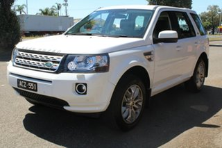 2014 Land Rover Freelander 2 LF MY15 SD4 SE (4x4) White 6 Speed Automatic Wagon
