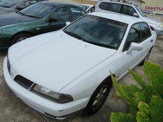 2000 Mitsubishi Magna White 4 Speed Automatic Sedan.