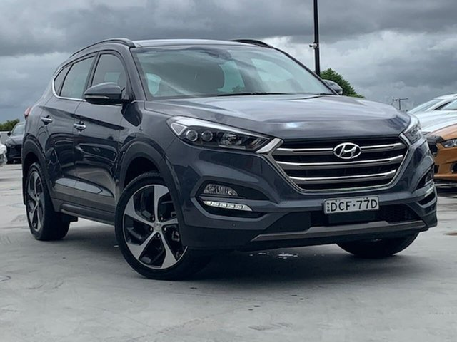 Used Hyundai Tucson TLE Highlander AWD Liverpool, 2015 Hyundai Tucson TLE Highlander AWD Grey 6 Speed Sports Automatic Wagon