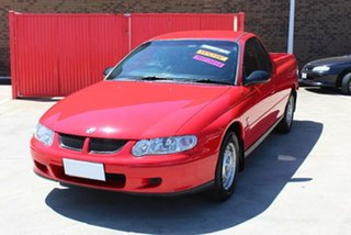 2001 Holden Commodore VU Red 4 Speed Automatic Utility.