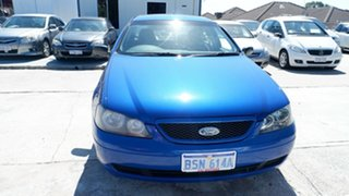2005 Ford Falcon BA Mk II XT Blue 4 Speed Sports Automatic Sedan.