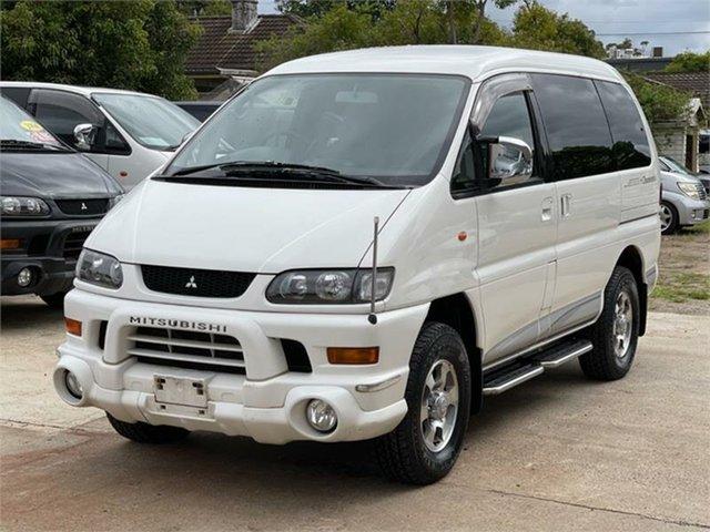 Used Mitsubishi Delica Silverwater, 2003 Mitsubishi Delica PD6W Spacegear White Automatic Van Wagon