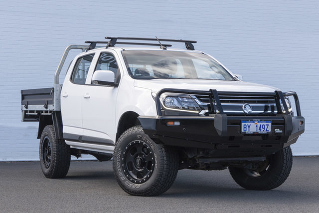 Used Holden Colorado RG MY18 LS Crew Cab Bunbury, 2017 Holden Colorado RG MY18 LS Crew Cab White 6 Speed Sports Automatic Cab Chassis