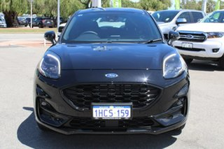 2020 Ford Puma JK 2020.75MY ST-Line Black 7 Speed Sports Automatic Dual Clutch Wagon.