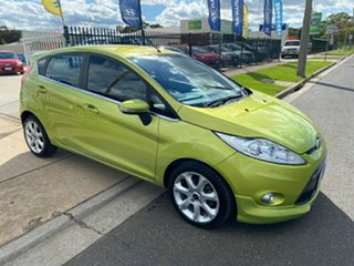 2010 Ford Fiesta WS Zetec Green 4 Speed Automatic Hatchback.